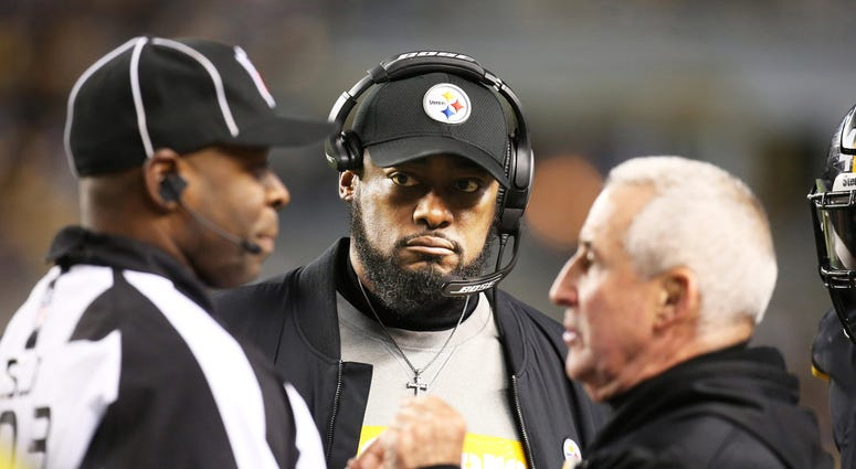 Mike Tomlin Pittsburgh Steelers Cincinnati Bengals NFL