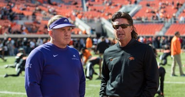 Mike Gundy Gary Patterson