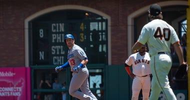 Madison Bumgarner Max Munch Dodgers Giants