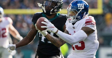 Odell Beckham Jr. New York Giants Philadelphia Eagles