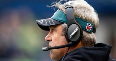Eagles coach Doug Pederson
