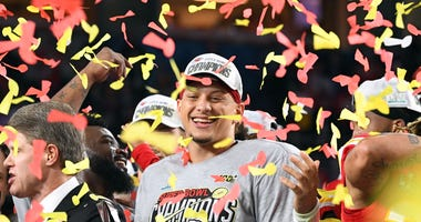 Patrick Mahomes Chiefs Super Bowl