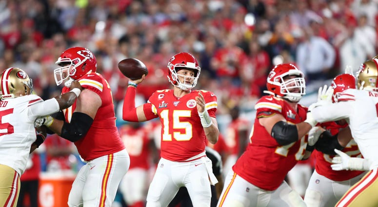 Patrick Mahomes Super Bowl Chiefs