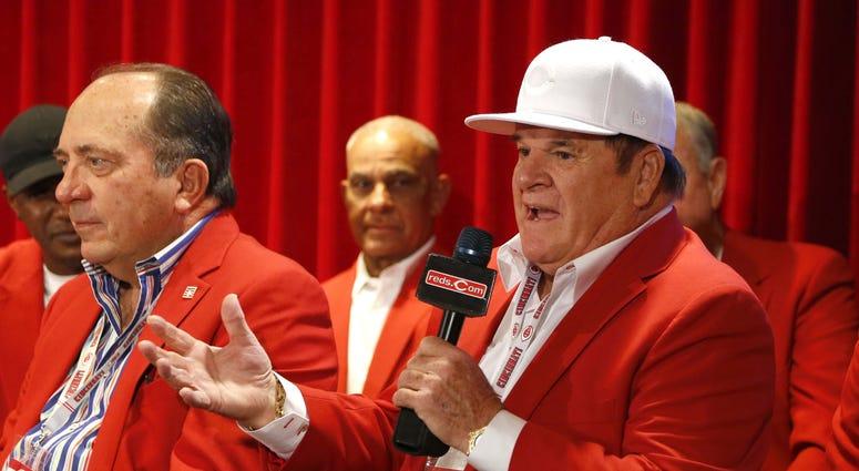 Pete Rose Cincinnati Reds Hall of Fame