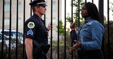 Police Protestors