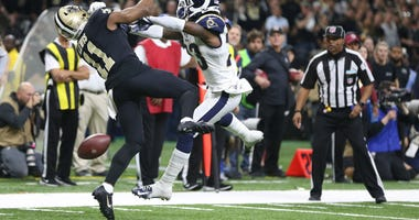 Rams Saints Pass Interference NFC Championship