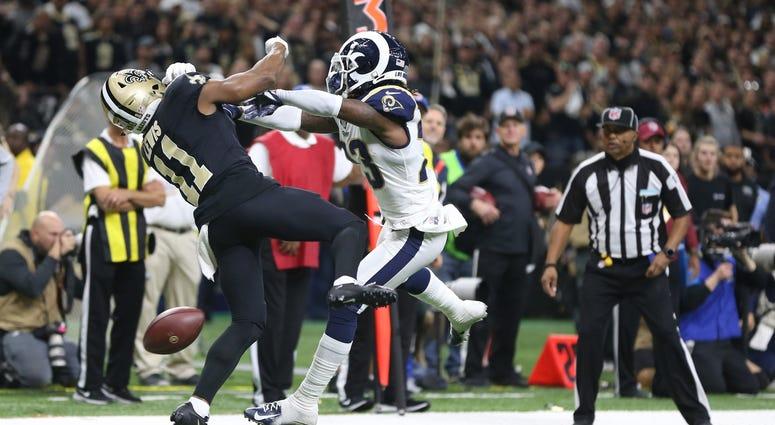 Rams Saints Pass Interference NFC Championship