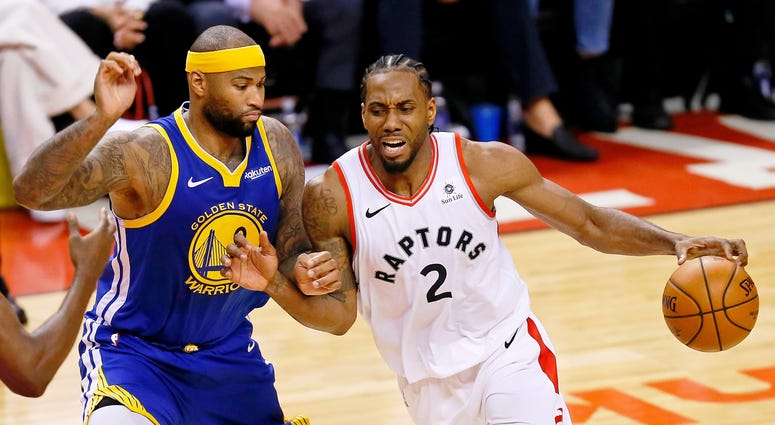 Kawhi Leonard Toronto Raptors Golden State Warriors NBA Finals