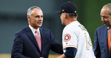 Rob Manfred Astros