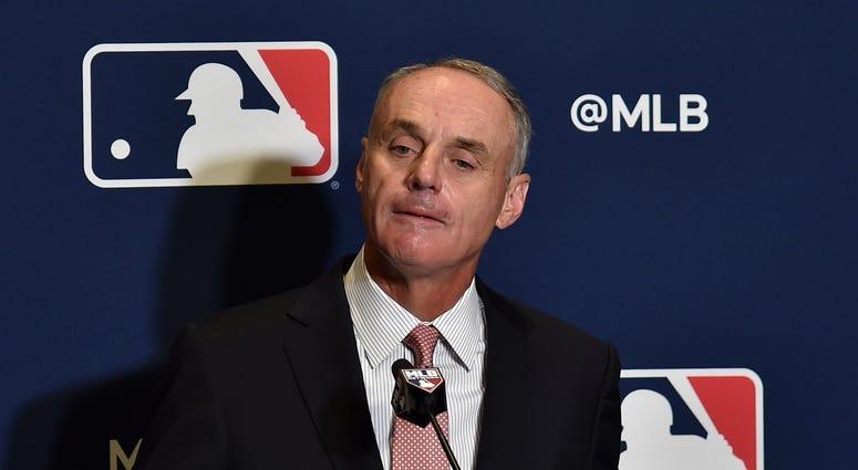 Rob Manfred MLB Commissioner