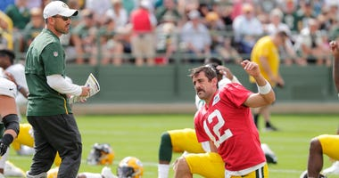 Packers Aaron Rodgers Matt Lafleur
