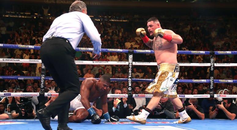 Andy Ruiz Anthony Joshua Boxing
