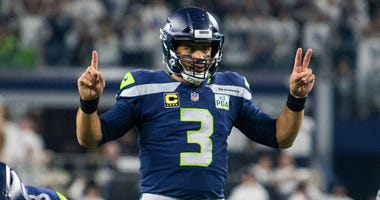 Russell Wilson Seahawks Cowboys NFL Playoffs