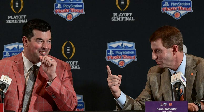 Ryan Day Dabo Swinney College Football
