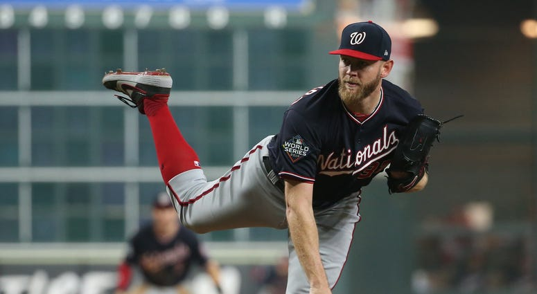 Stephen Strasburg Nats Astros World Series