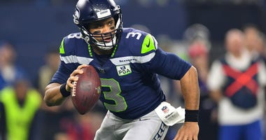Russell Wilson Seattle Seahawks Dallas Cowboys NFL Wild Card