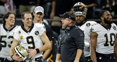 Sean Payton Drew Brees Saints