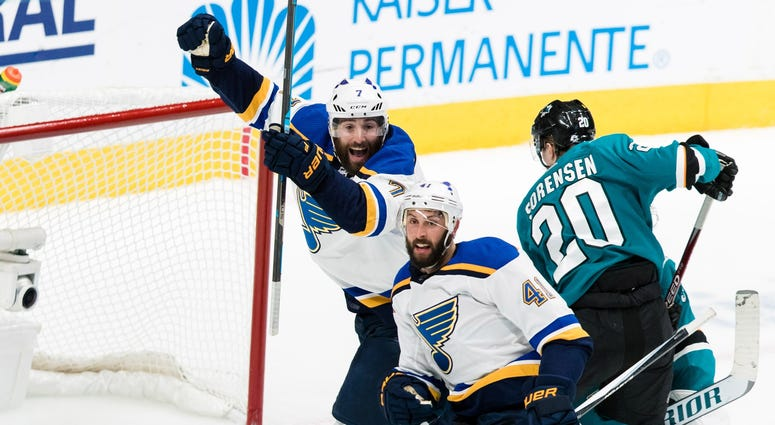 Sharks Blues Game 2 NHL Playoffs