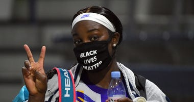 Sloane Stephens Black Lives Matter