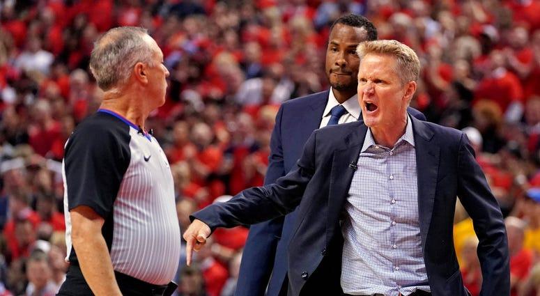 Steve Kerr Warriors Raptors NBA Finals Game 5