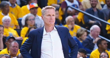 Steve Kerr Warriors NBA Finals