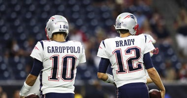 Tom Brady Jimmy G Patriots
