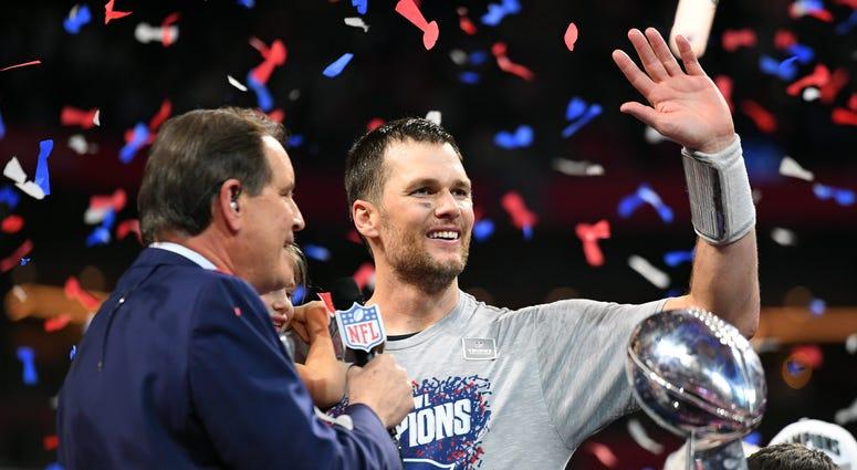 Tom Brady Patriots Super Bowl