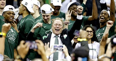 Tom Izzo Michigan State Duke Elite Eight