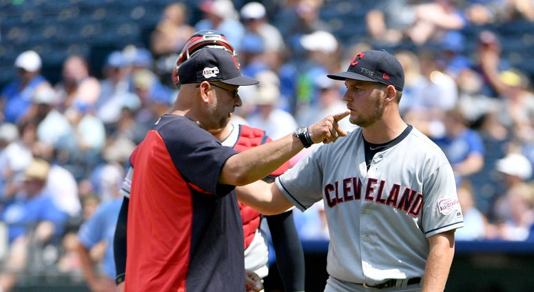 Trevor Bauer Indians Reds Trade