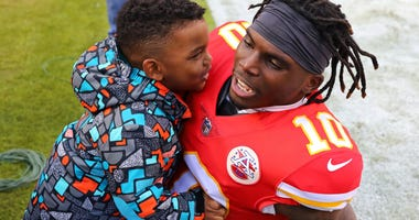 Tyreek Hill Son