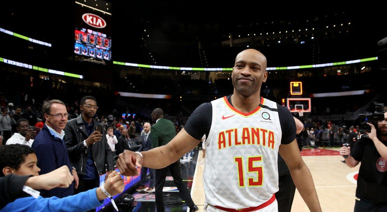 Vince Carter Hawks NBA
