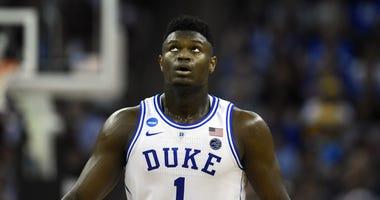 Zion Williamson Duke NBA Draft