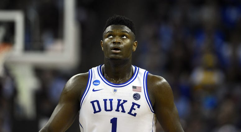 Zion Williamson Duke NBA Draft