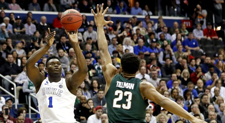 Zion Williamson Duke Michigan State Elite Eight