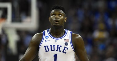 Zion Williamson Duke NCAA Tournament NBA Draft Lottery