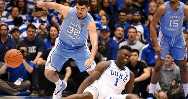 Zion Williamson Knee Injury North Carolina Duke