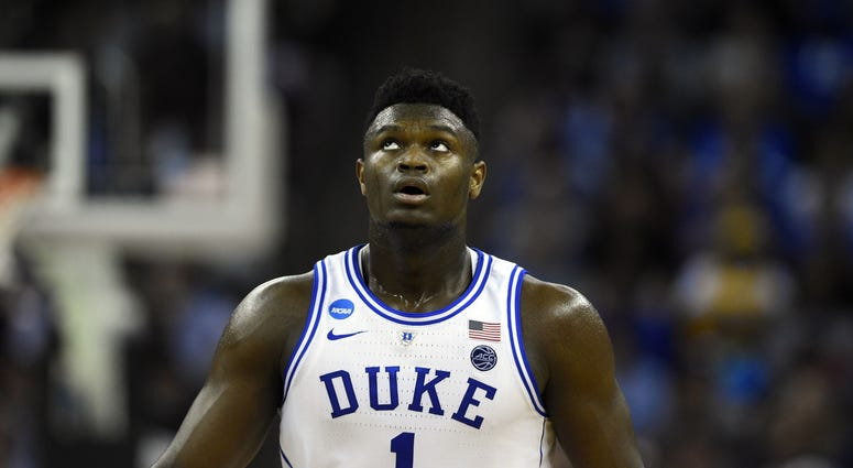 Zion Williamson Duke UCF NCAA Tournament
