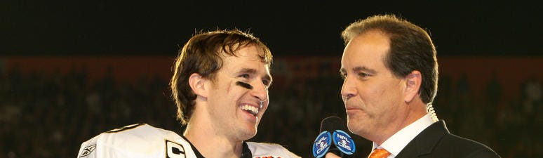 Drew Brees Saints Super Bowl