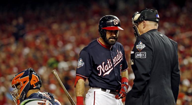 Adam Eaton Nationals Astros World Series