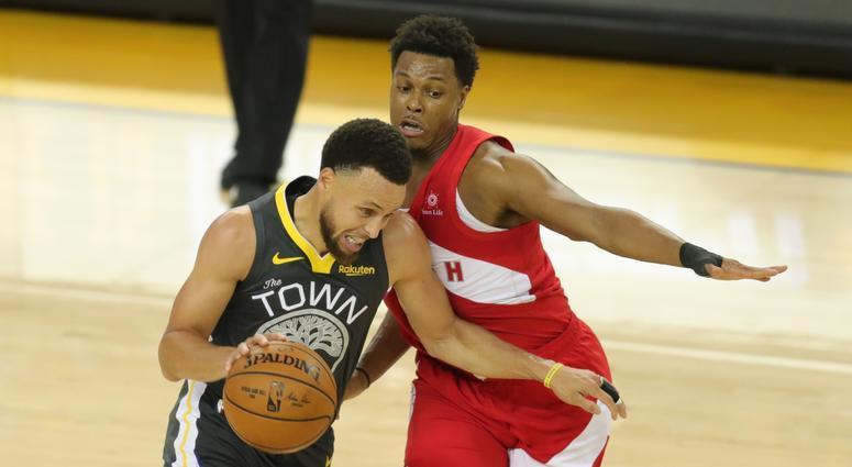 Steph Curry Warriors NBA Finals