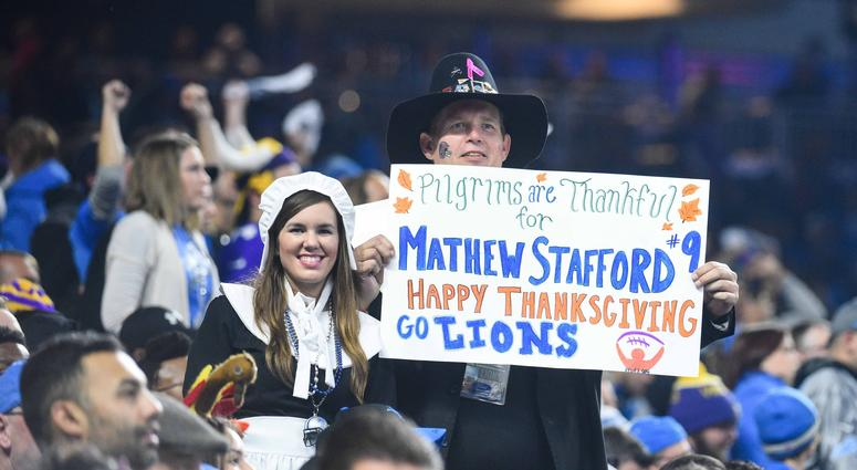 NFL Thanksgiving Lions