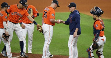 AJ Hinch World Series Game 7