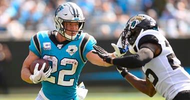 Christian McCaffrey Panthers