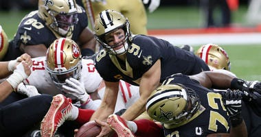 Drew Brees Saints 49ers