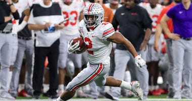 JK Dobbins Ohio State Big Ten Championship