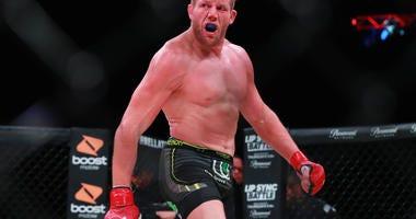 Jake Hager MMA Bellator