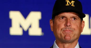 Jim Harbaugh Michigan Ohio State