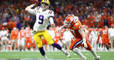 LSU Clemson Joe Burrow