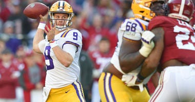 Joe Burrow LSU Alabama