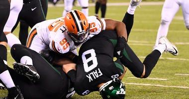 Myles Garrett Browns Jets